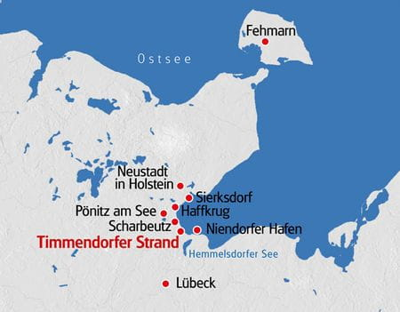Ostsee Karte