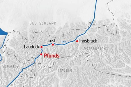 Multiaktivurlaub Tirol Karte