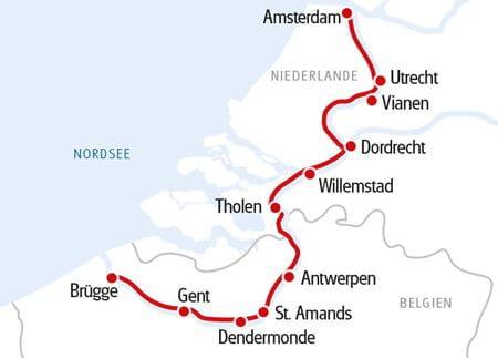 RS K Amsterdam - Bruegge FLUVIUS 2020