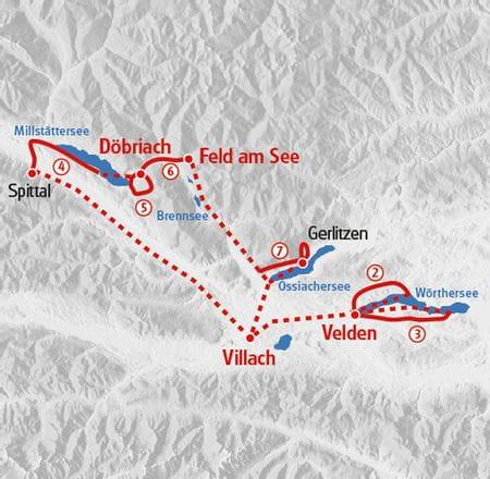 Wandern Kärnten Karte
