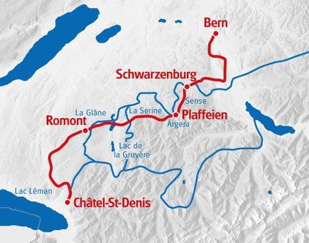 Freiburger Flüsse