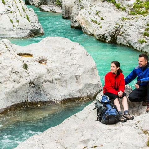 Wandern ohne Gepäck im Triglav-Nationalpark