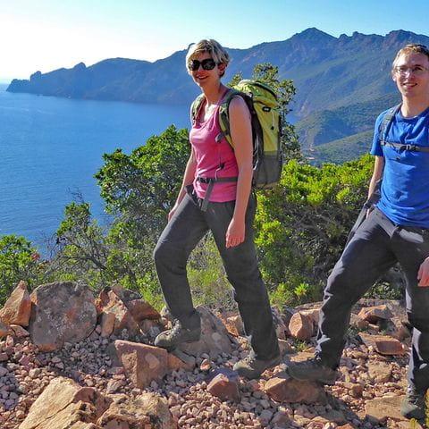 Kuestenzauber - faszinierende Wanderungen auf Korsika