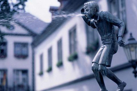 Schängelbrunnen in Koblenz