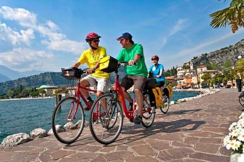 Radler in Riva del Garda