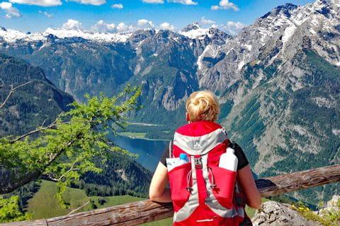 Traumhafte Aussicht auf den Königssee