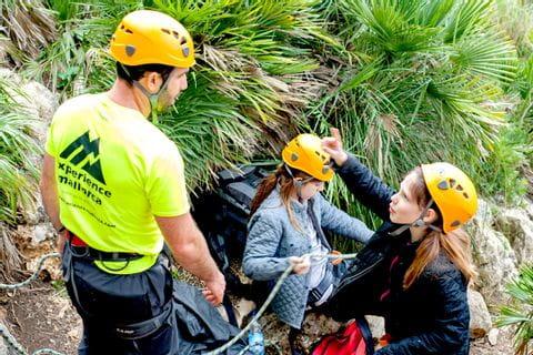 Einweisung Seilführung zum Klettern