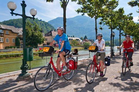 Radweg in Bad Ischl