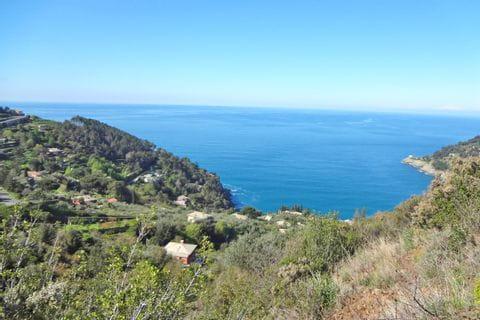 Mediterrane Wanderung mit Meerblick