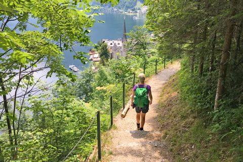 Wandern am Soleleitungsweg nach Hallstatt
