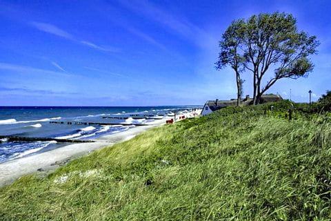 Schöner Strand an der Ostsee