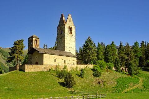 Churche San Gian in Celerina