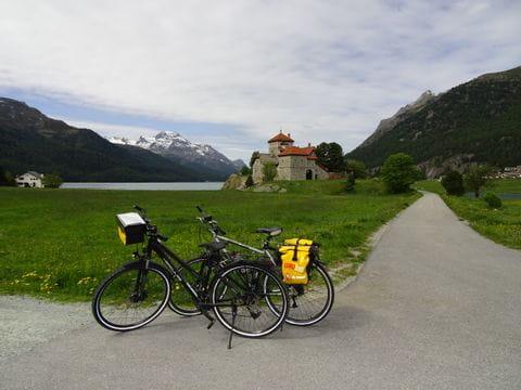 Radpause am Innradweg