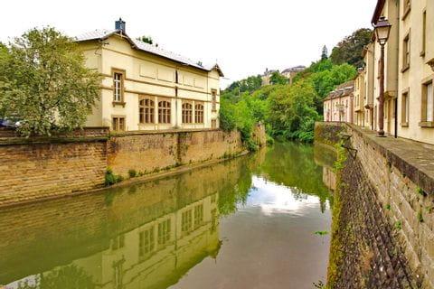 Fluss in Luxemburg
