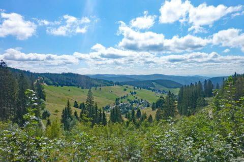 Traumhafter Ausblick im Hochschwarzwald