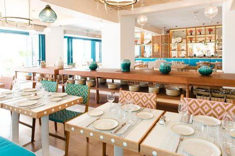 Restaurant im Hotel Hanucai