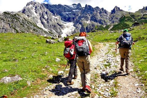 Wanderung zur Erichhütte