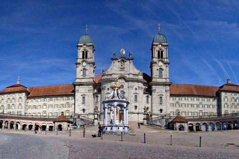 Monastery in Einsiedeln