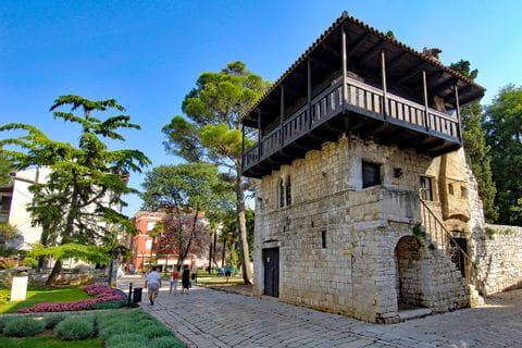 Ein romatisches Häuschen bei Poreč