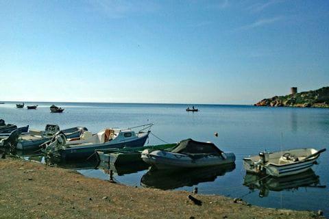 Boote am Porto Budella