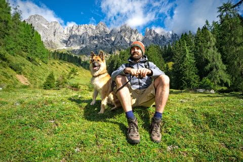 Hiking pleasures while walking with your dog