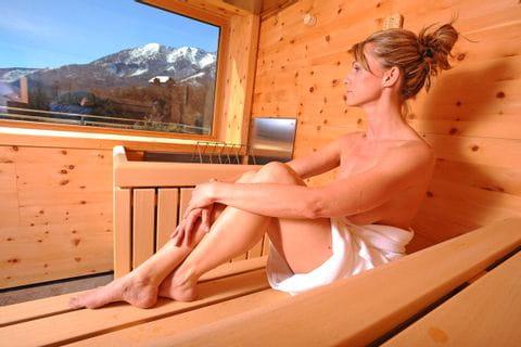 Wellness-Bereich des Hotels Erzherzog Johann in Bad Aussee