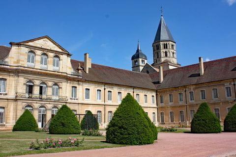 Abtei von Cluny in Burgund