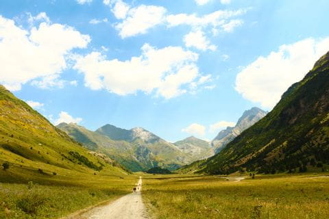 Wandererlebnis durch die Bergwelt der Pyrenäen