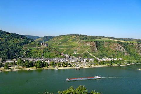 Panoramablick auf den Rhein