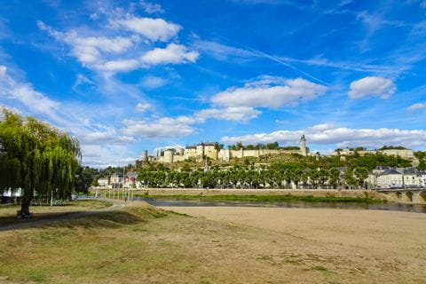 Schloss Azey-le-Rideau am Loire-Radweg