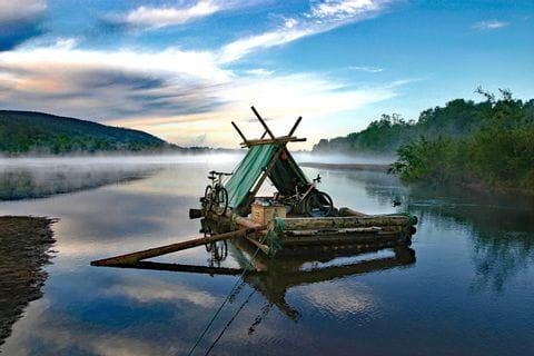 Morgenstimmun in Schweden