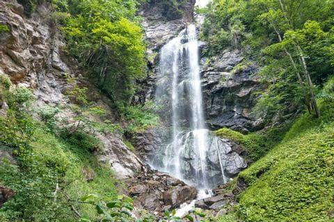Finterbacher Wasserfall in Ossiach