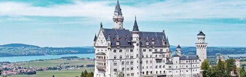Separator Bayern Schloss Neuschwanstein