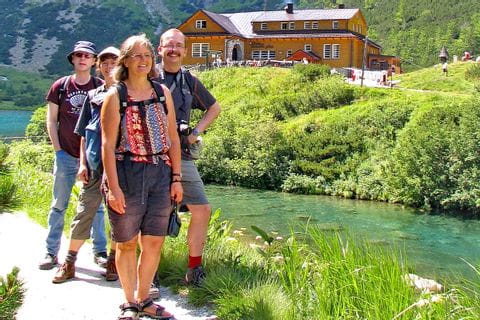Bergwandergenuss auf der Hohen Tatra