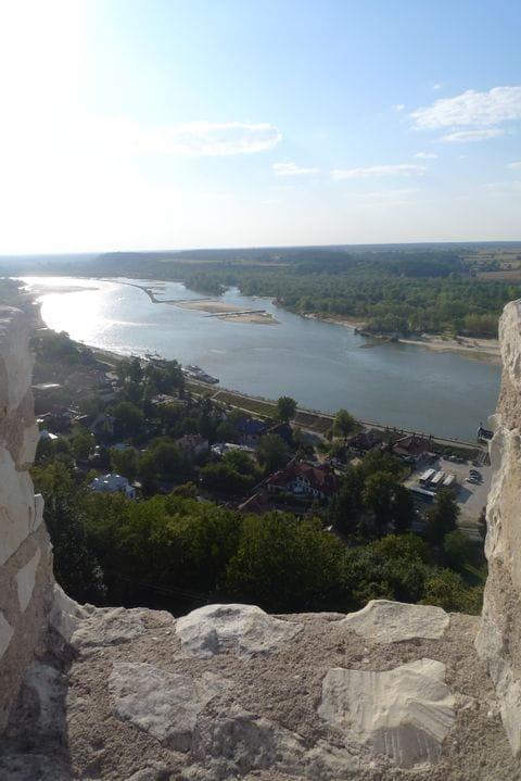 Blick auf Kazimierz Dolny