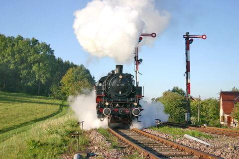 Sauschwänzlebahn in Fahrt