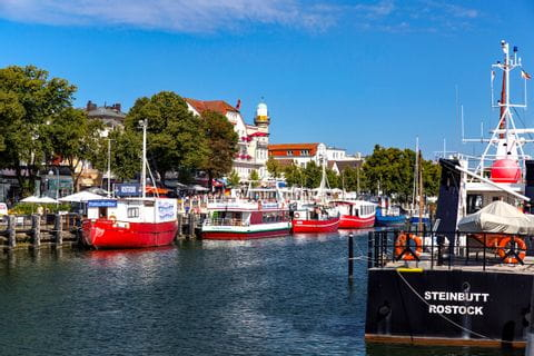 Hafen von Travemuende