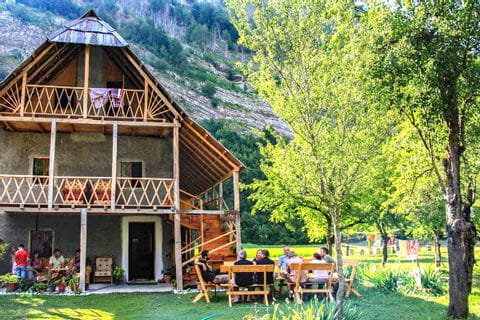 Herzliche Gastfreundschaft der Bergbauern
