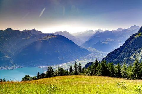 Beautiful countryside of Uri