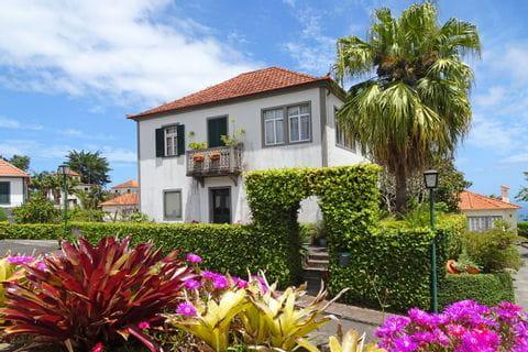 Härliga blommer på Madeira