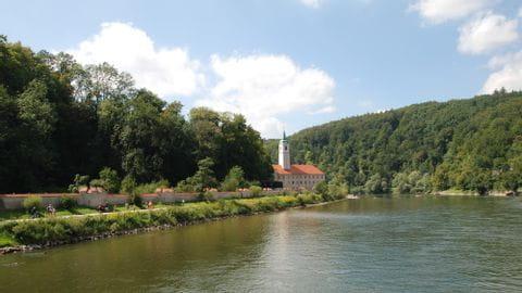 Donau Kloster Weltenburg