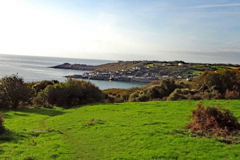 Landschaftsblick bei der Wanderreise in Cornwall