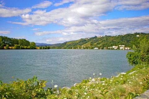 Flusslauf Rhone