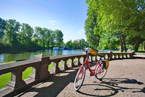 Fahrrad in Koblenz