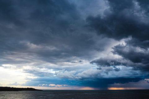 Mystische Stimmung über dem Meer von Sa Coma