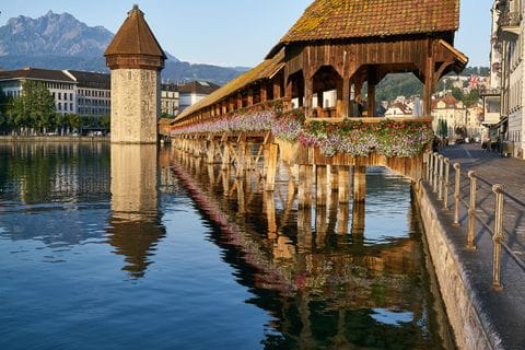 Lake with a view at Luzern