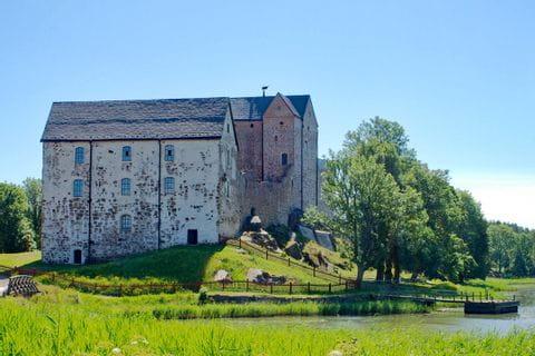 Kleines Schloss in Finnland