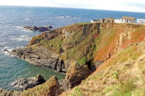 Meerblick beim Wanderurlaub Cornwalls Küstenpfade