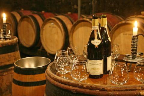 Wanderpause genießen mit Wein
