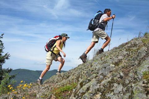 Bergwanderung am Schluchtensteig